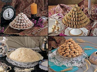 Image result for شیرینی حاج خلیفه رهبر یزد